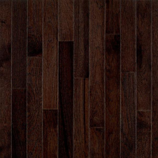 Frontier Shadow Hickory 3/4 in. Thick x 2-1/4 in. Wide x Varying Length Solid Hardwood Flooring (20 sq. ft. / case)