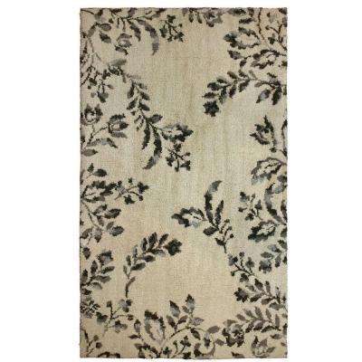 Winchester Plush Knit Taupe 8 ft. x 11 ft. Area Rug