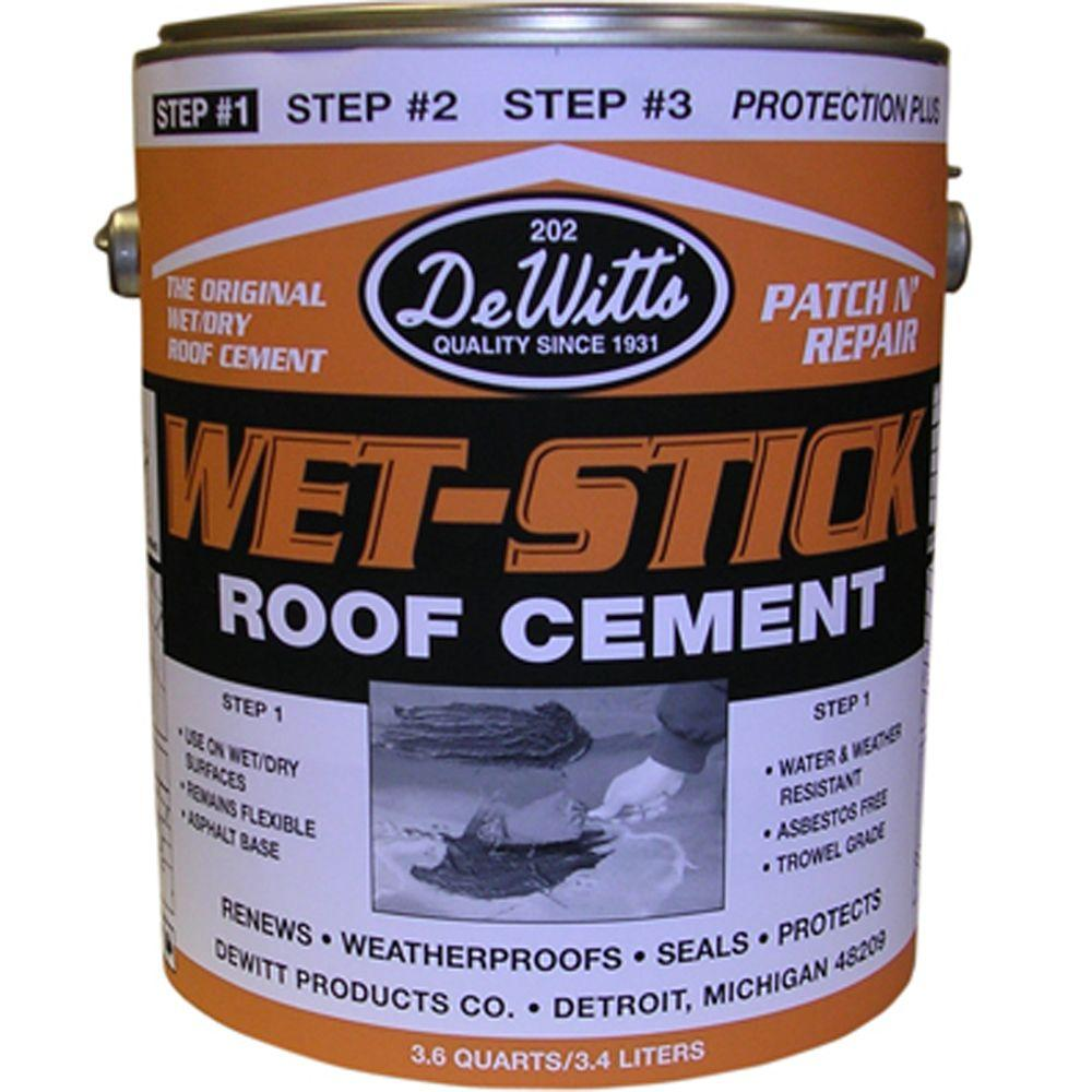 Roof Cement Amp Ex Amp Le Of Wrong Type Of Roofing Cement Used