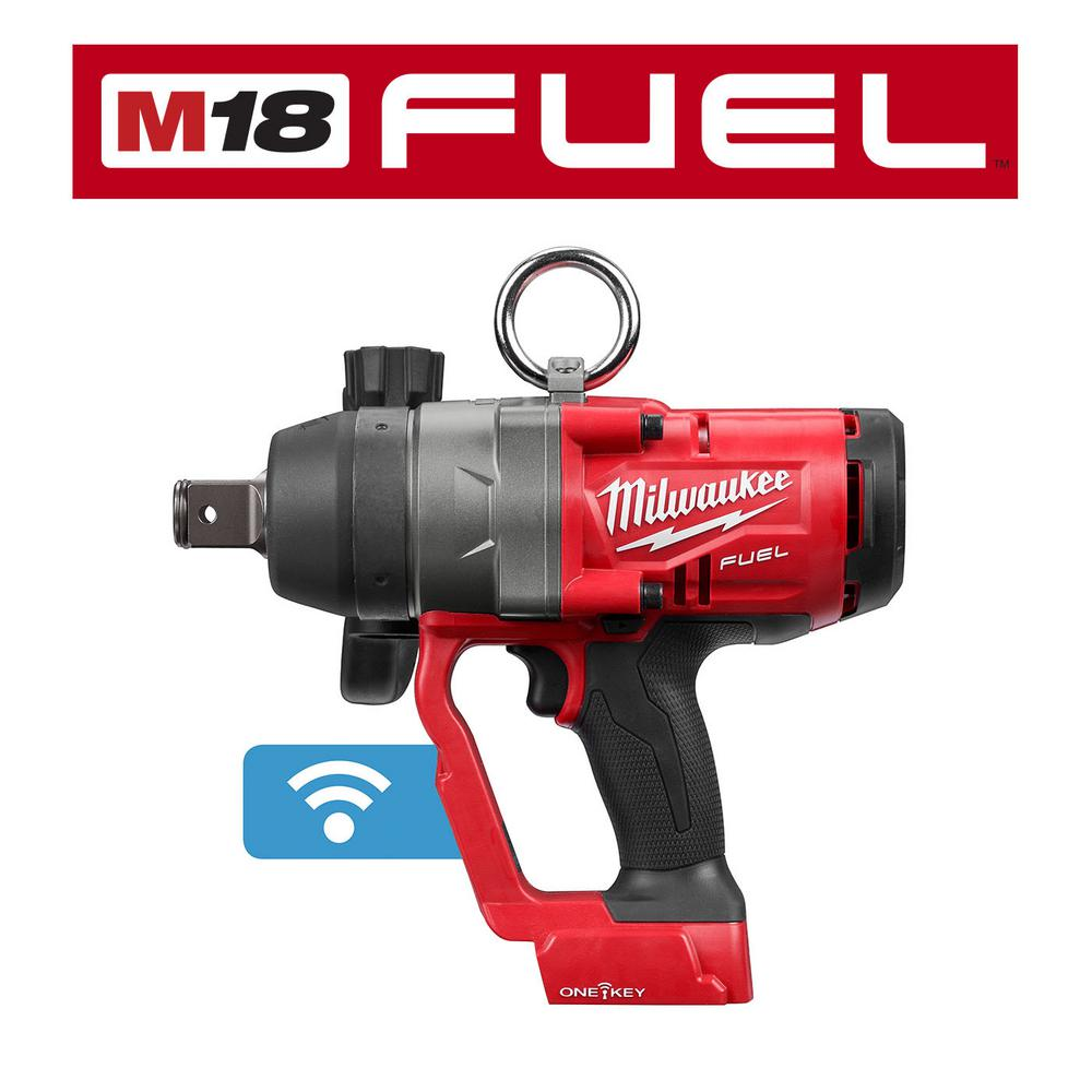 Milwaukee M18 ONE-KEY FUEL 18-Volt Lithium-Ion Brushless Cordless 1 in. Impact Wrench with Friction Ring (Tool-Only)