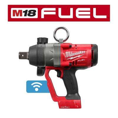 M18 ONE-KEY FUEL 18-Volt Lithium-Ion Brushless Cordless 1 in. Impact Wrench with Friction Ring (Tool-Only)