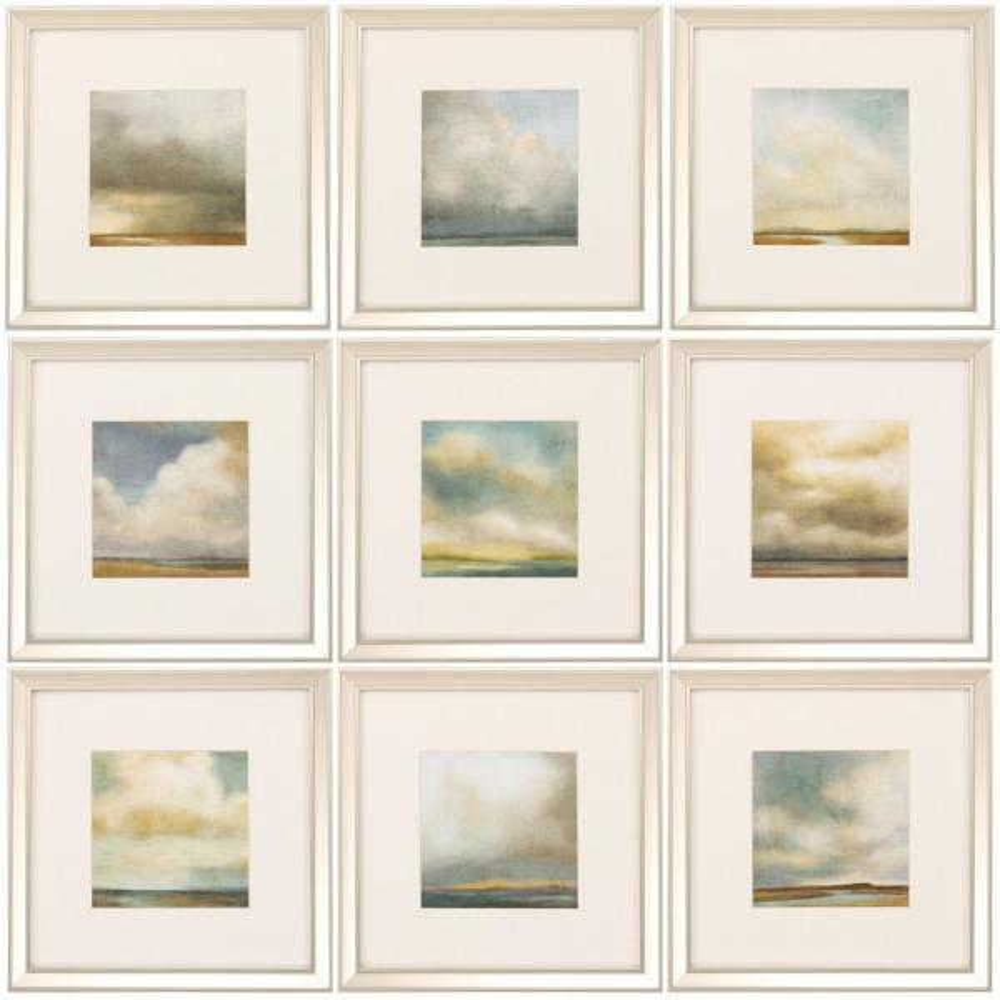 16 in. x 14 in. ''Atmosphere PK/9'' Framed Wall Art