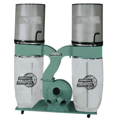 3 HP Heavy Duty Dust Collector with Canister Filter