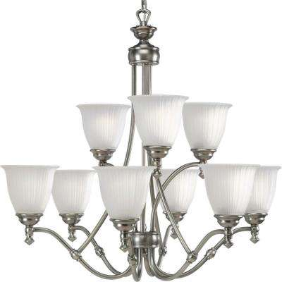 Renovations Collection 9-Light Antique Nickel Chandelier