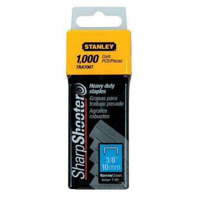 3/8 in. Leg x 1-51/64 in. Crown Heavy-Duty Staples (1,000-Pack)