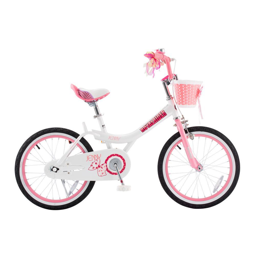 Royalbaby Jenny Princess Pink Girl's Bike With Training