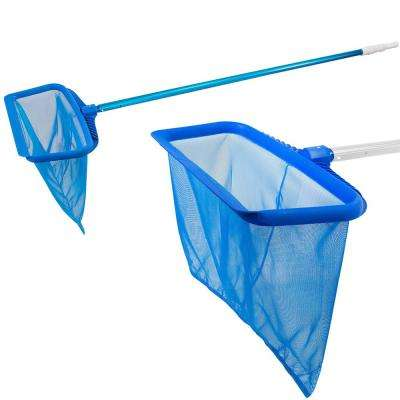 Heavy Duty Swimming Pool Deep Bag Leaf Rake