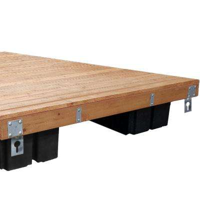 8 ft. x 12 ft., 10 ft. x 12 ft., 6 ft. x 16 ft., 8 ft. x 16 ft. Floating Wood Dock Kit