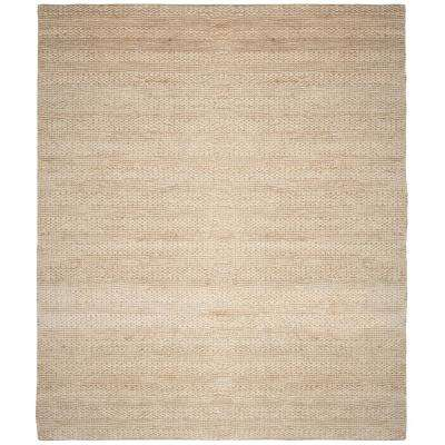 Natural Fiber Bleach 8 ft. x 10 ft. Indoor Area Rug