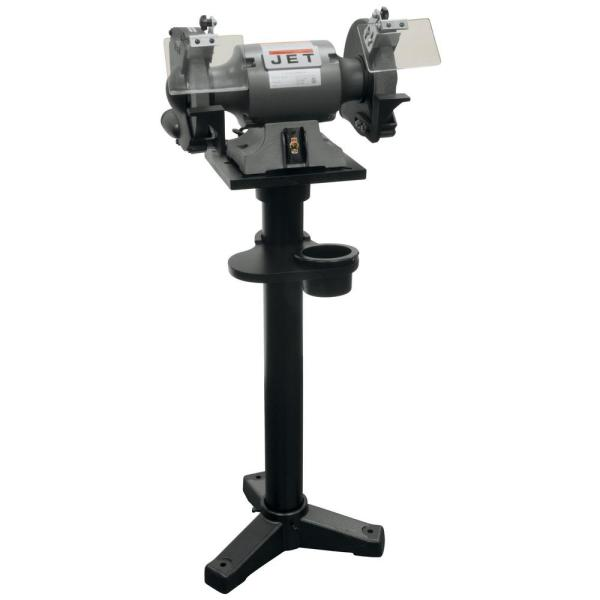 JBG-8A 8 in. Shop Grinder and JPS-2A Stand