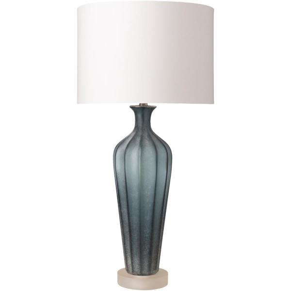 Jocelynn 31.5 in. Aqua Indoor Table Lamp