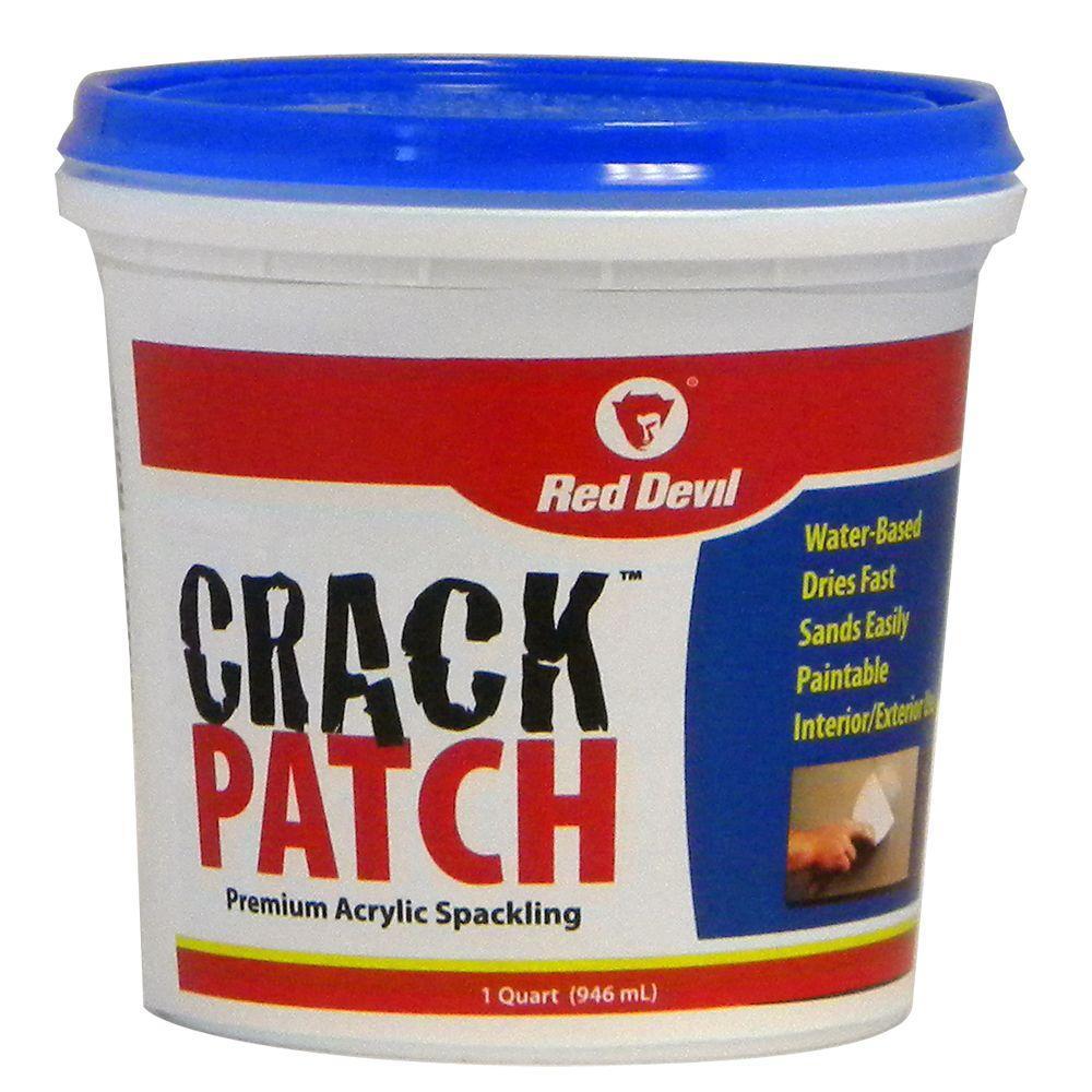 Crack Patch 1 qt. Premium Acrylic Spackling