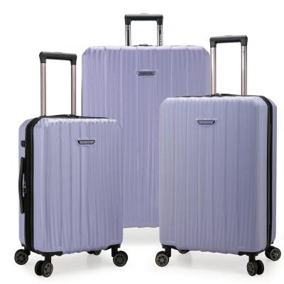 Dana Point 3-Piece Light Lavender Expandable Hardshell Set with USB Port