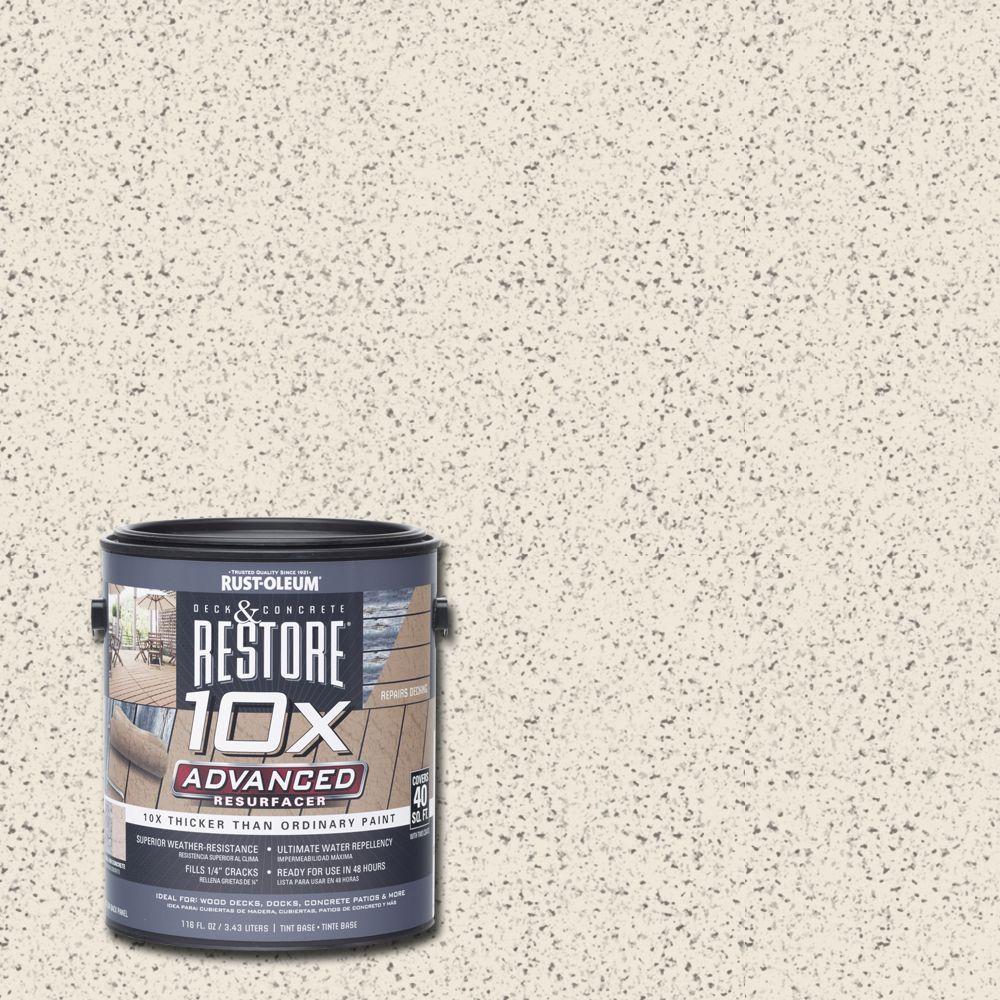 1 gal. 10X Advanced Linen Deck and Concrete Resurfacer