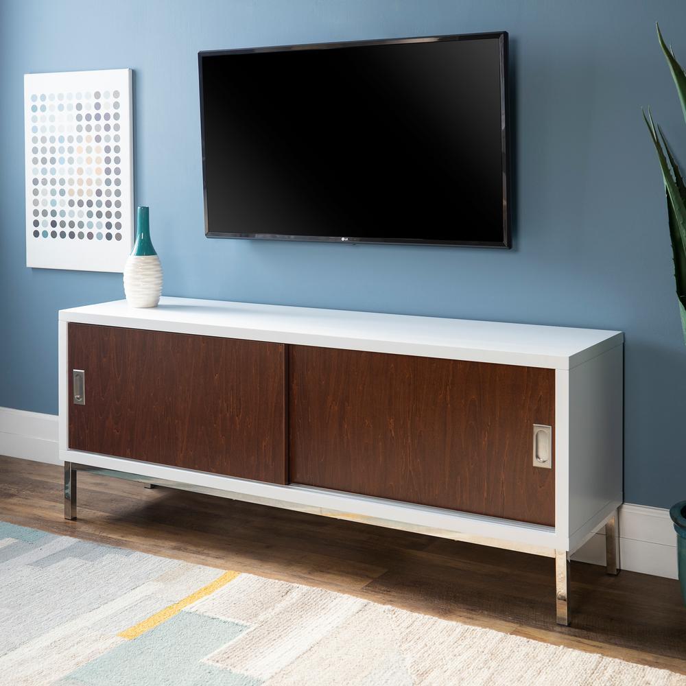 Walker Edison Furniture Company White Tv Stands Living Room