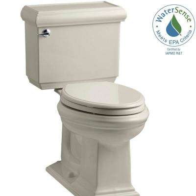 Memoirs Classic 2-piece 1.28 GPF Single Flush Elongated Toilet with AquaPiston Flush Technology in Sandbar