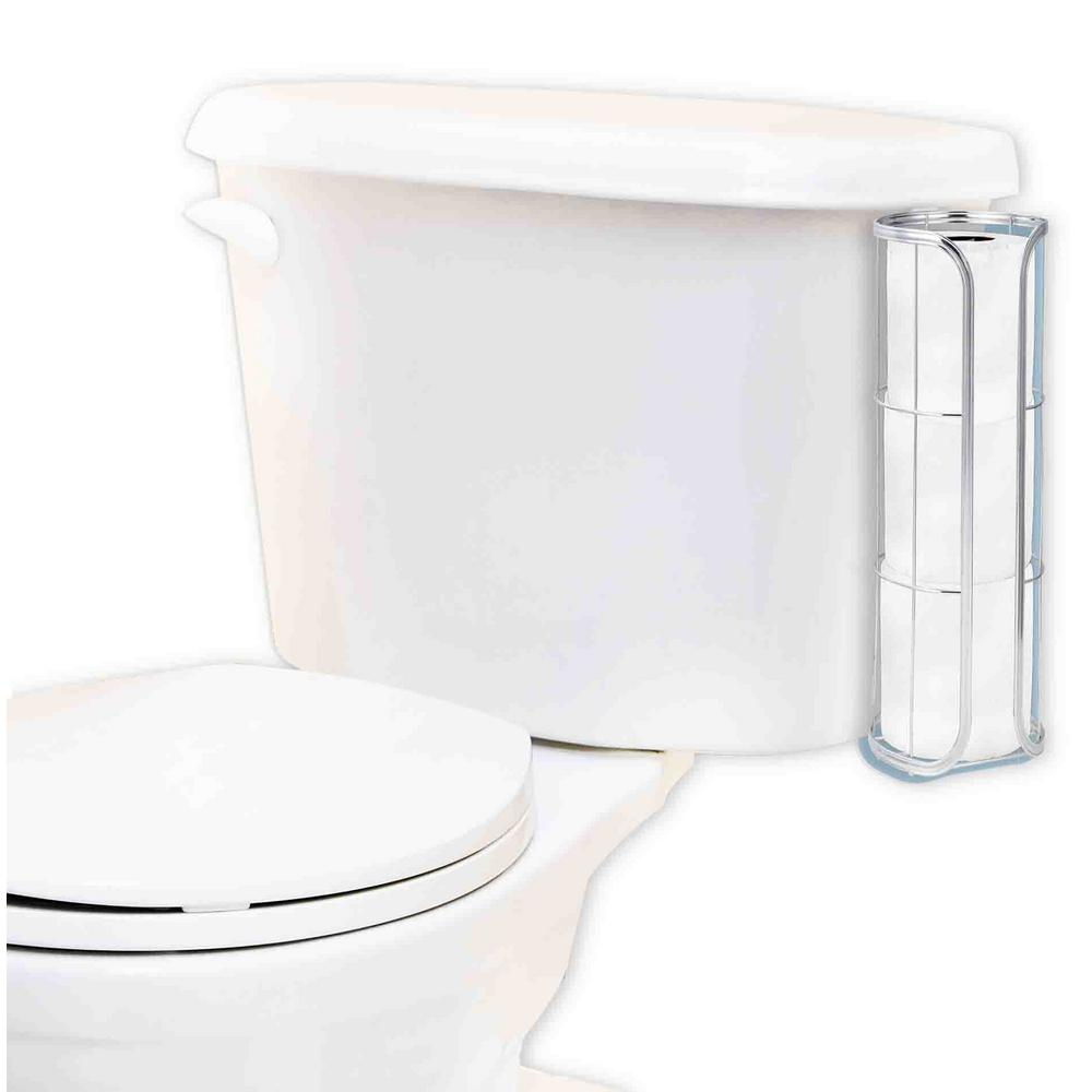 Home Basics Over-the-Tank Toilet Paper Holder in Chrome-TH41057 ...