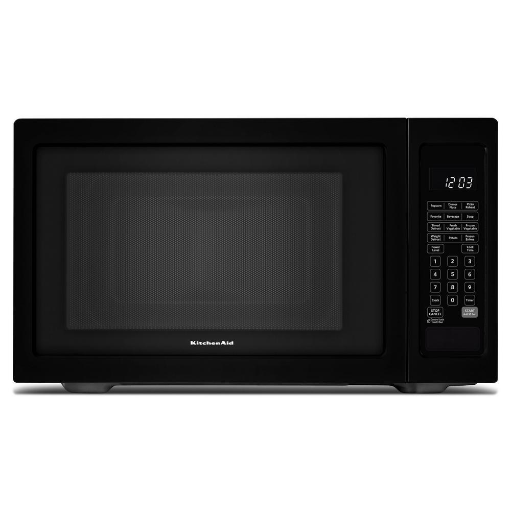 1.6 cu. ft. Countertop Microwave in Black