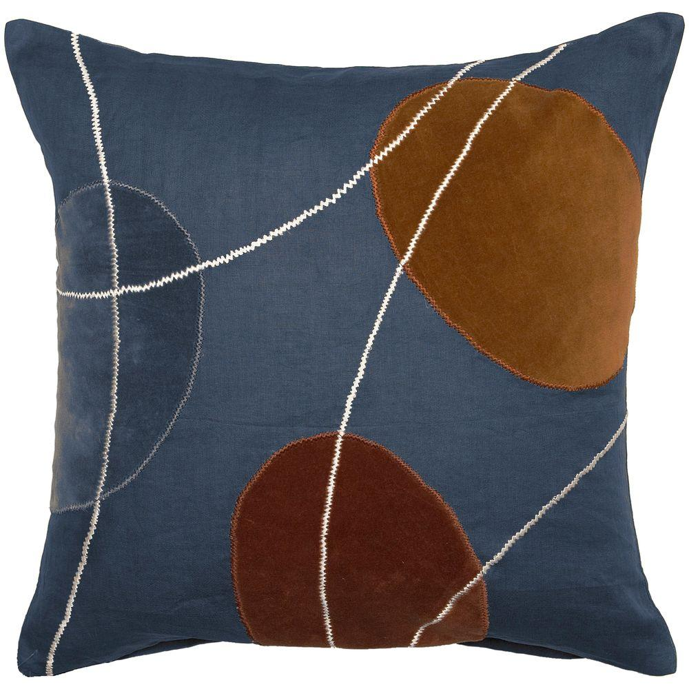 Artistic Weavers GeometricB3 18 in. x 18 in. Decorative Down Pillow