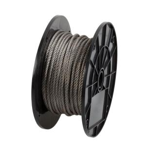 1/8 in. x 125 ft. Uncoated Stainless Steel Wire Rope