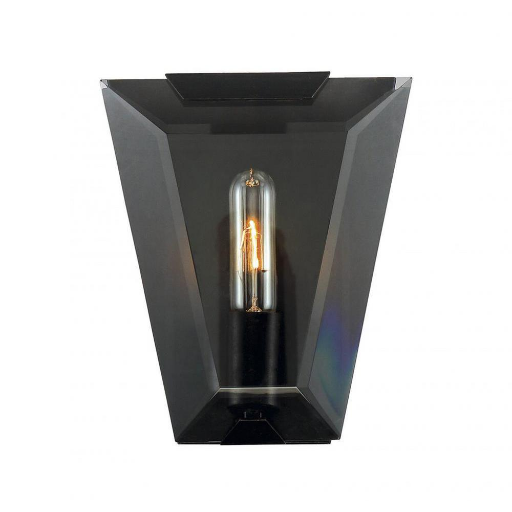 Cathy 1-Light Oiled Bronze Outdoor Wall Mount Sconce