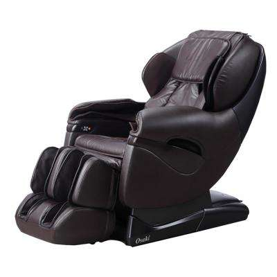 Pro Series Brown Faux Leather Reclining Massage Chair