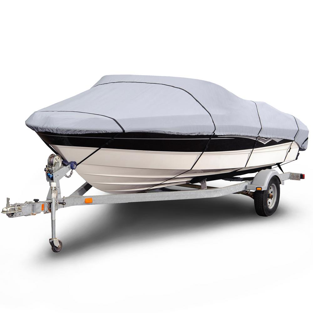 "NEW Boat Cover,Budge 600 Denier V-Hull Size BT-3 14/'-16/' 144/""-192/"""