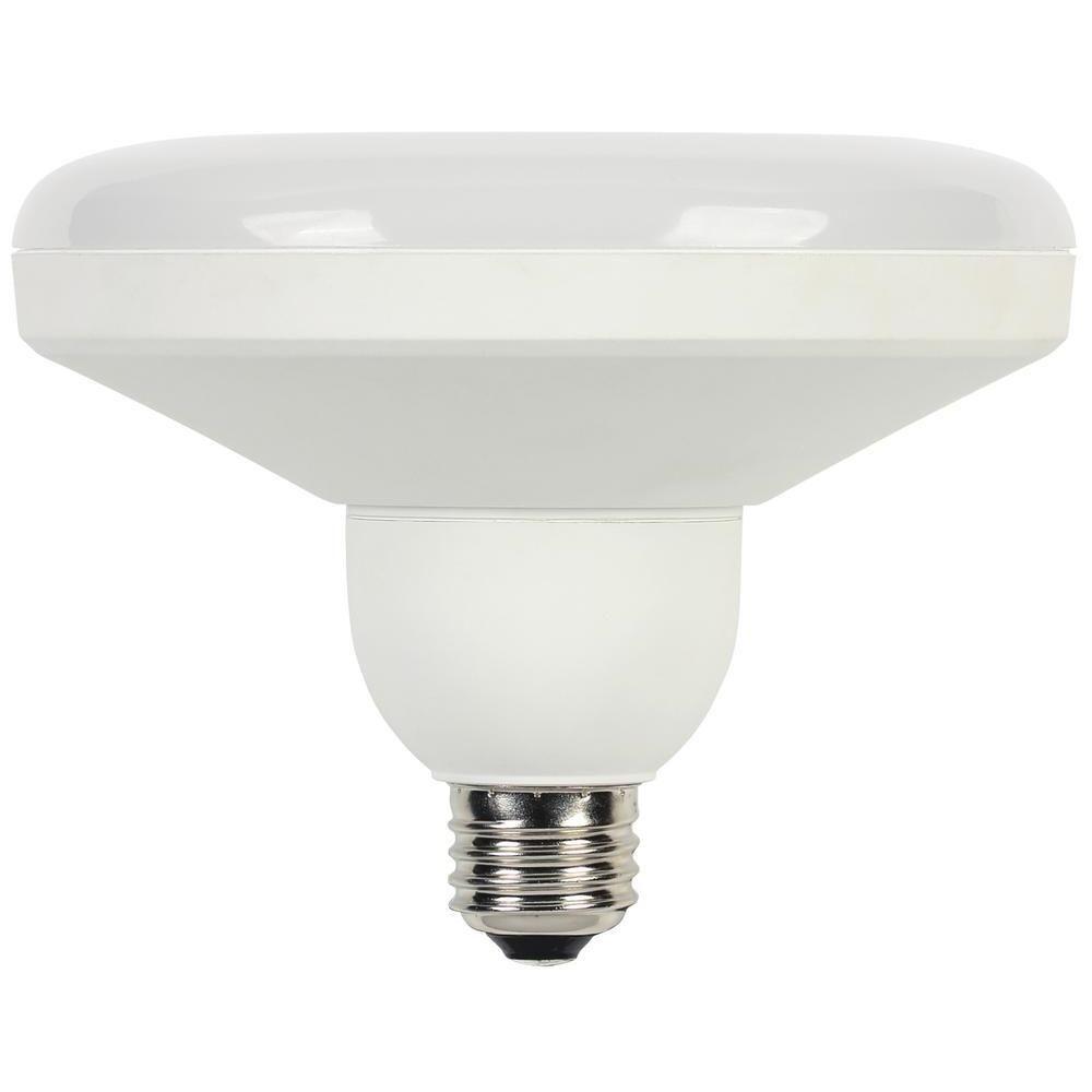 75W Equivalent Warm White (2,700K) DLR46 Utility Medium Base LED Light Bulb