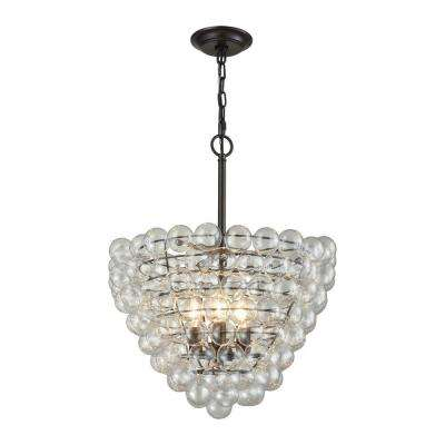 Cuvee 3-Light Oil Rubbed Bronze Large Chandelier