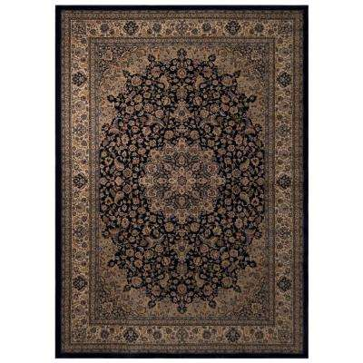 Classical Manor Blue 5 ft. 3 in. x 7 ft. 5 in. Area Rug