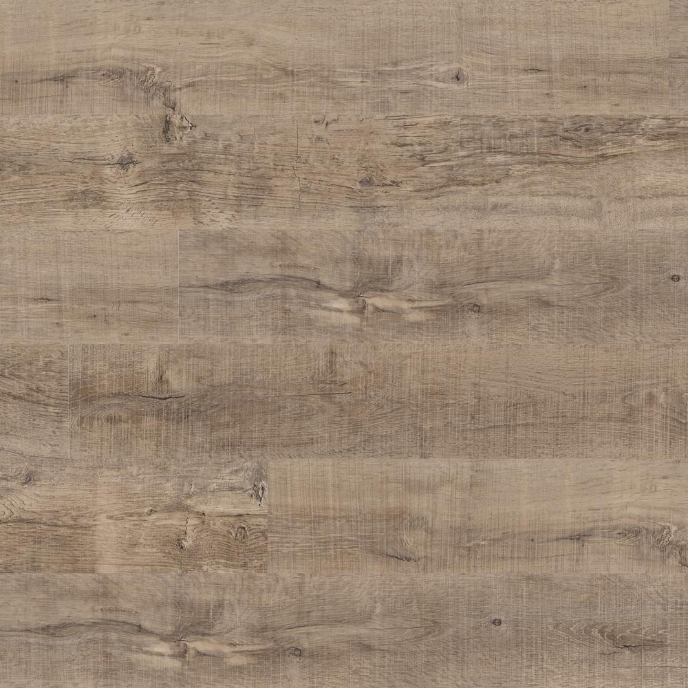 Woodland Rustic Pecan 7 in. x 48 in. Rigid Core Luxury Vinyl Plank Flooring (23.8 sq. ft. / case)