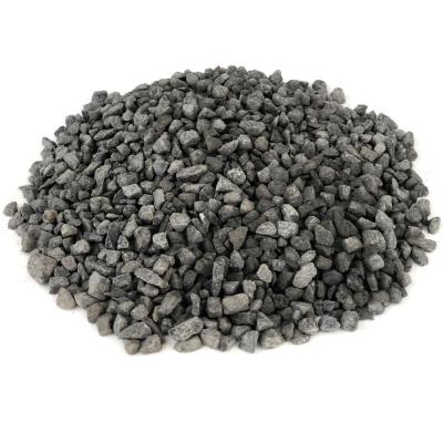 27.50 cu. ft. 3/16 in. 2200 lbs. Black Washed Gravel