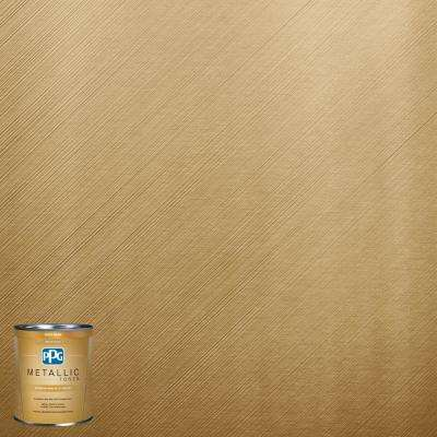 1-qt. MTL137 Gilded Gold Metallic Interior Specialty Finish Paint