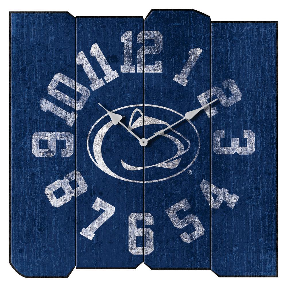 Penn State Vintage Square Clock
