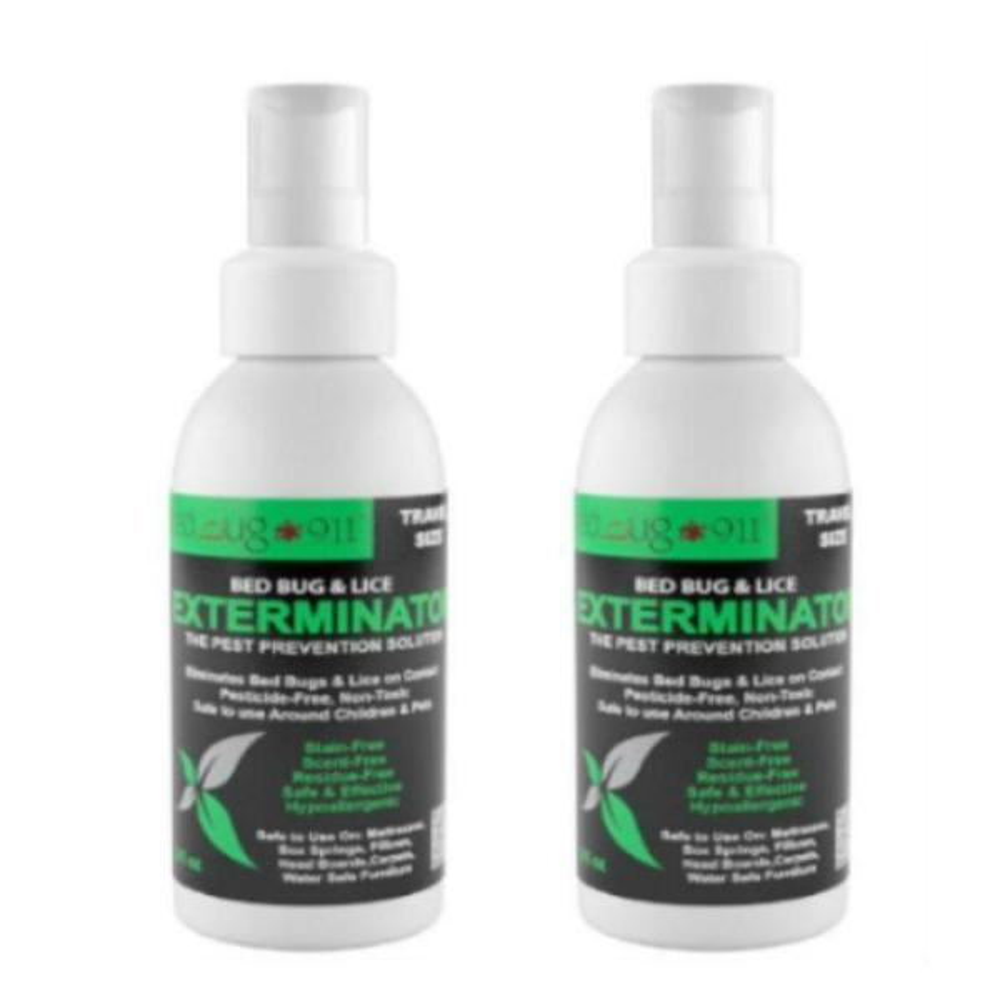 Hygea Natural 3 oz. Bed Bug Travel Spray (2-Pack)
