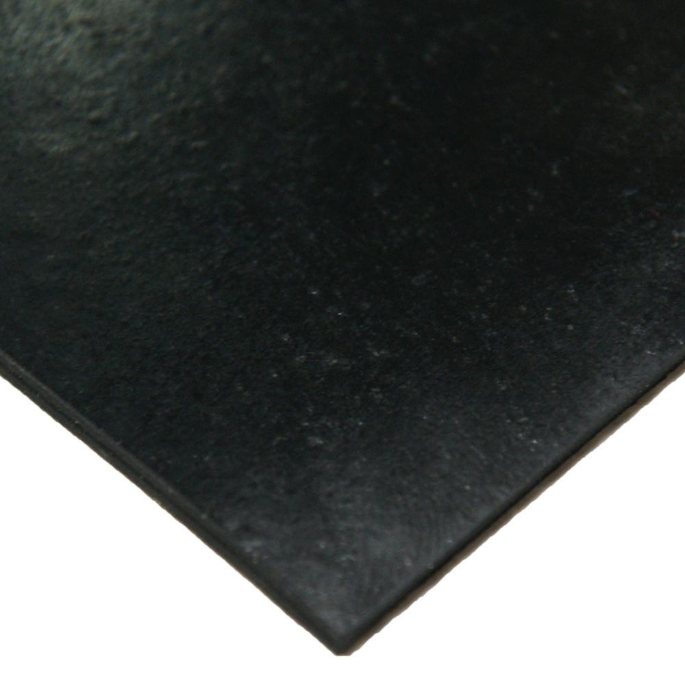 Neoprene 1/4 in. x 36 in. x 240 in. Commercial Grade - 70A Rubber Sheet