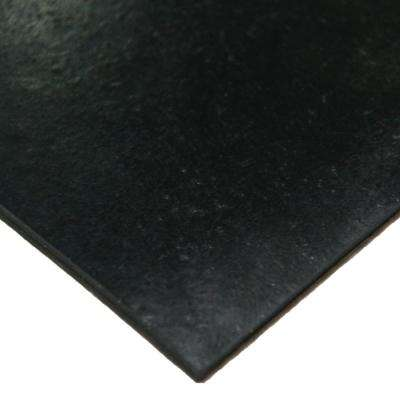 Neoprene 1/2 in. x 36 in. x 120 in. Commercial Grade - 70A Rubber Sheet