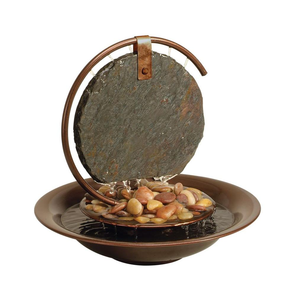 Water Wonders Mini Moon-Shadow Tabletop Fountain-WWSMDC - The Home Depot
