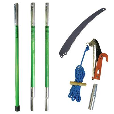 Landscaper pH-11 Pruner Package with Three 6 ft. Poles