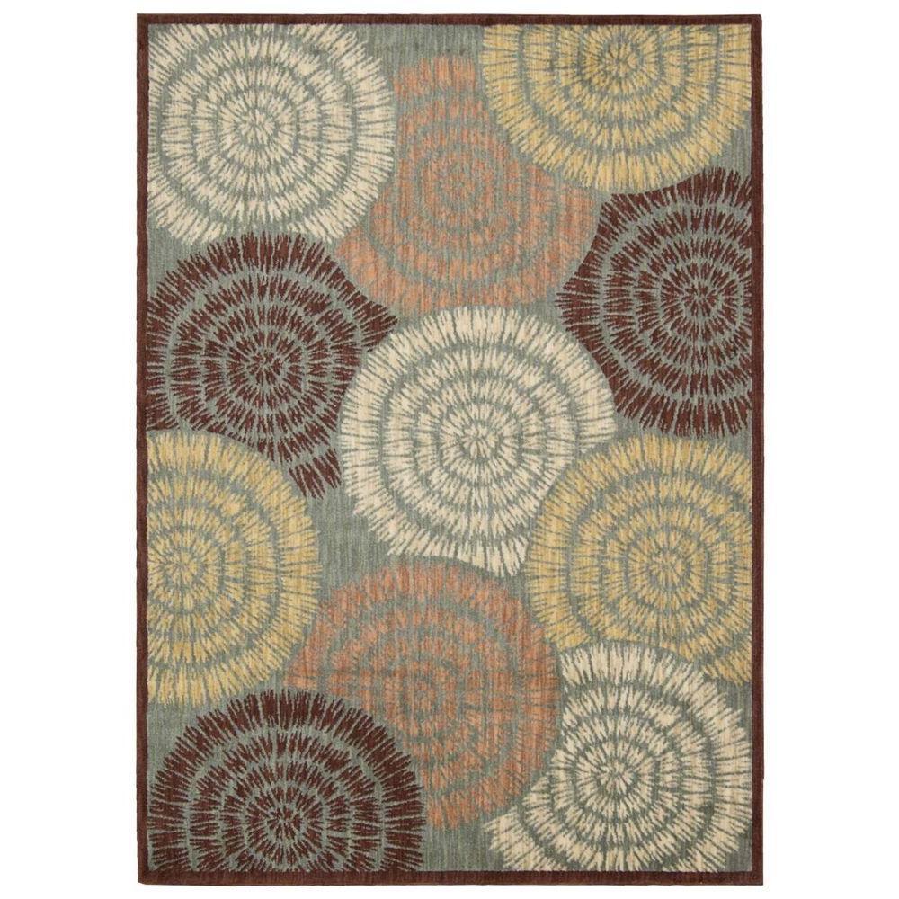 Overstock Area Rugs: Nourison Overstock Aristo Multicolor 9 Ft. X 13 Ft. Area
