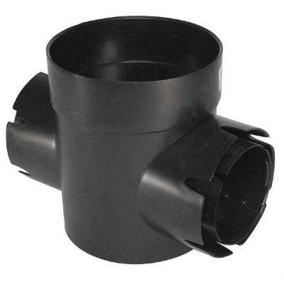 6 in. Spee-D Double-Outlet Drainage Catch Basin