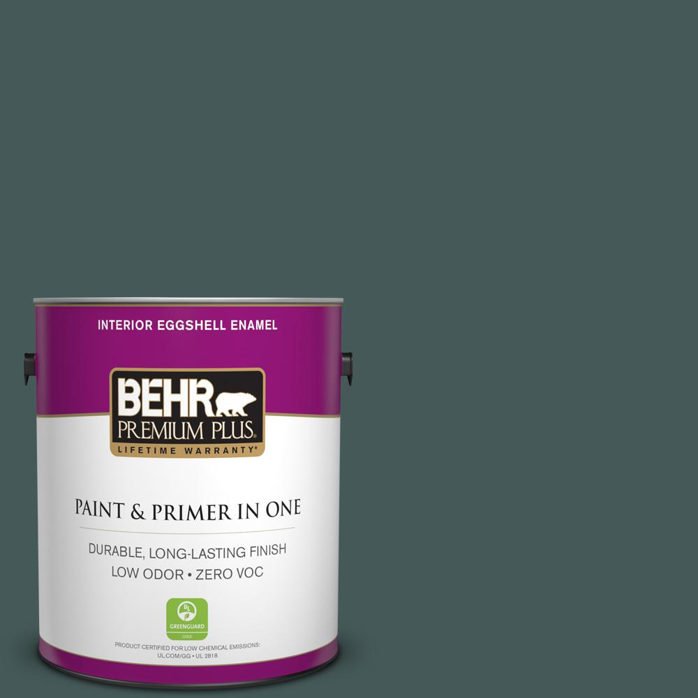 BEHR Premium Plus 1-gal. #N430-7 Silken Pine Eggshell Enamel Interior Paint