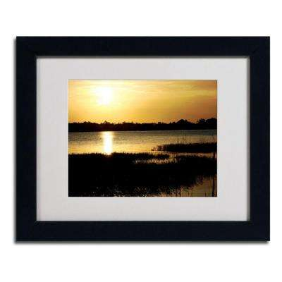 11 in. x 14 in. End of the Day Matted Framed Art