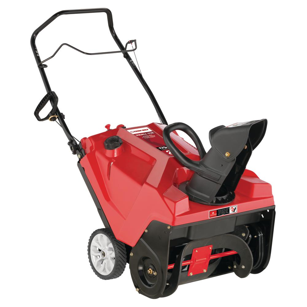 Troy Bilt Squall 21 in. 179 cc Single-Stage Gas Snow Blower with Electric Start and E-Z Chute Control