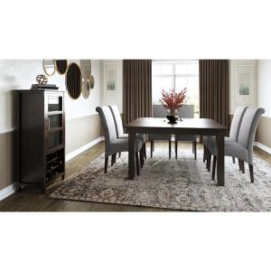 Simpli Home Eastwood Solid Hardwood And 54 In X
