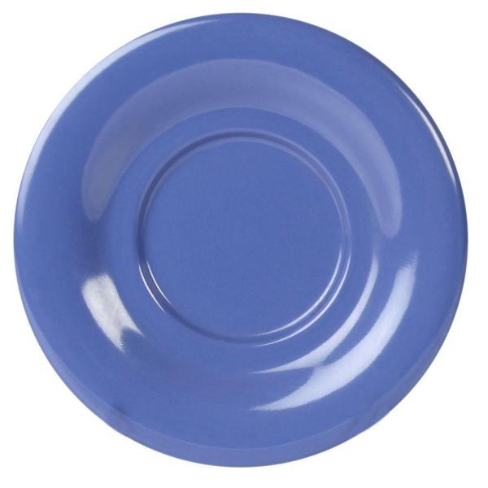 Restaurant Essentials Coleur 5-1/2 in. Saucer for Cr303/Cr9018 in Purple