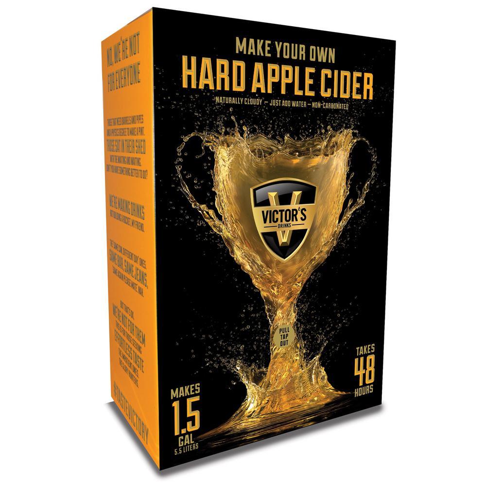 Hard Apple Cider Drink Kit Makes 5.5LT - 4.5% ABV