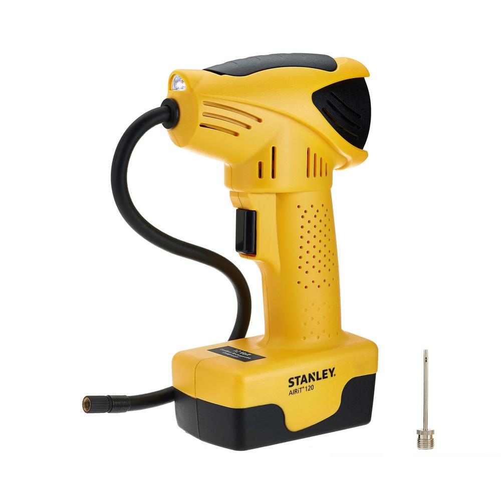 Stanley Rechargeable Cordless Air Compressor Digital Tire