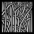 0.3 in. x 22.8 in. x 1.9 ft. Matrix Reeds Wall Art & Fence Panel