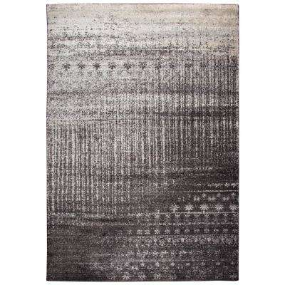 Encore Brown/Ivory 8 ft. x 10 ft. Rectangle Area Rug